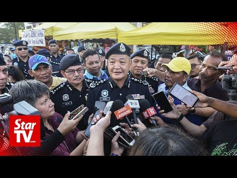 IGP: We'll be increasing surveillance during Hari Raya