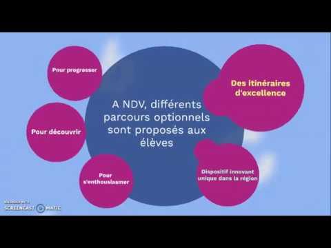 Les itinéraires : dynamisme et innovation au service des élèves