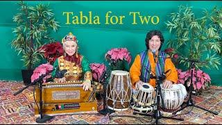 Aaja Sanam Madhur Chandani performed by Tabla for Two
