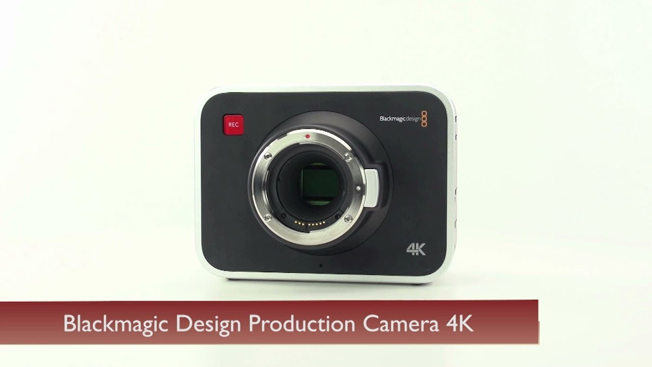 Blackmagic Design Production Camera 4K - YouTube