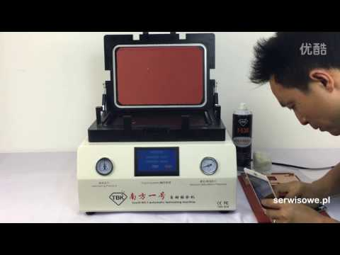 Complete Mobile Phone LCD Refurbish Process using TBK machines streaming vf