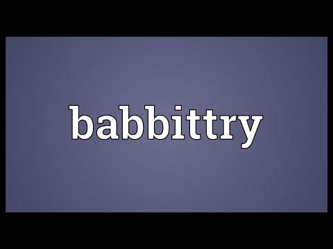 Header of Babbittry