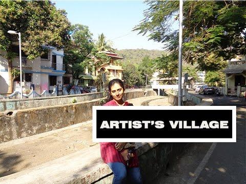 Doing Homework at Artist's Village, Belapur
