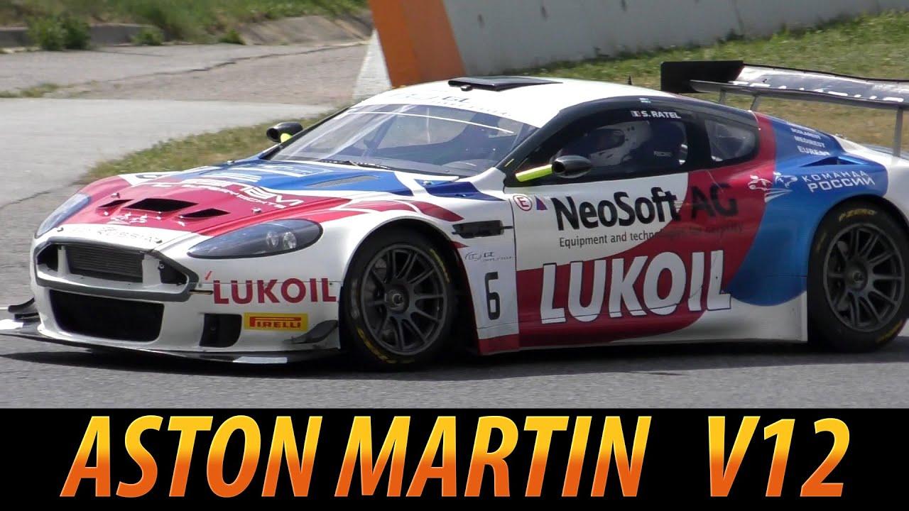 Aston martin DB9 Sounding 2015  V12 Engine  YouTube