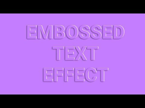 Simple Embossed Text Effects using css | Creative Text Effects With CSS