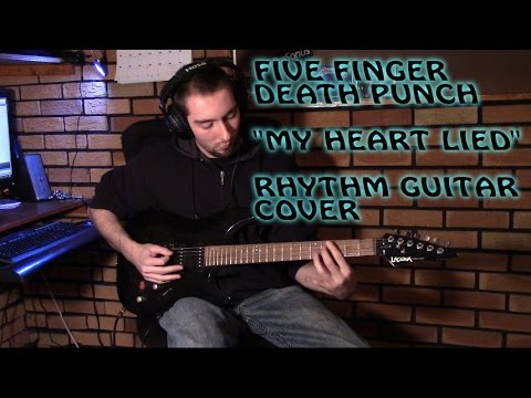 Five Finger Death Punch - My Heart Lied (Rhythm Cover)