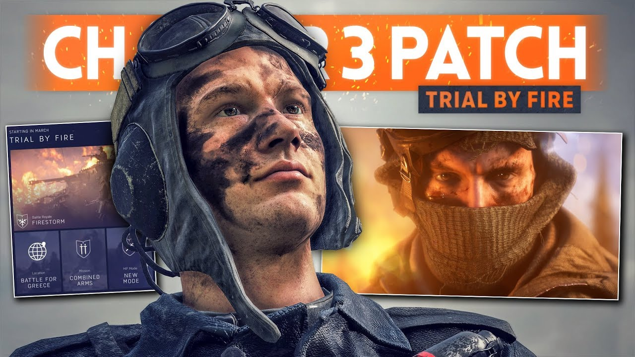 Battlefield 5 Firestorm patch is here with a surprise revamp