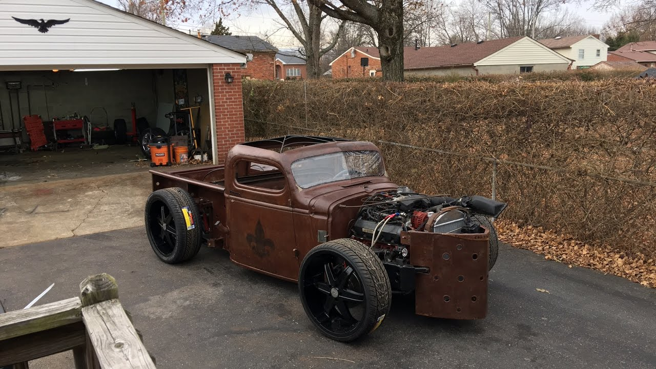 how to make a rat rod frame