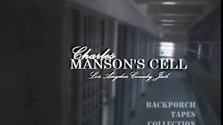 PBS Television Huell Howser inside Charles Manson LA County Jail Cell from Trial Backporch Tapes