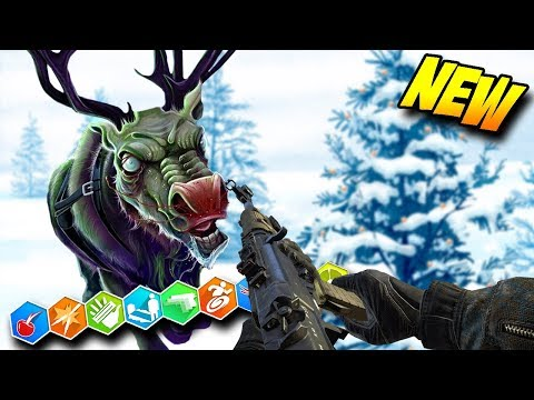 NEW! CHRISTMAS SKI RESORT | CRAZY EASTER EGG (BO3 Custom Zombies Mod)