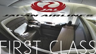 Japan Airlines FIRST CLASS SUITE Tokyo to London|B773