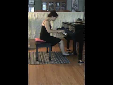 Prokofiev Piano Sonata No. 3 in A minor, Leah Dominy