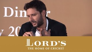Shahid Afridi on his Playing Style   MCC vs Rest of the World Dinner