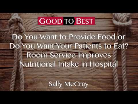 Room Service Improves Nutrition Intake in Hospital