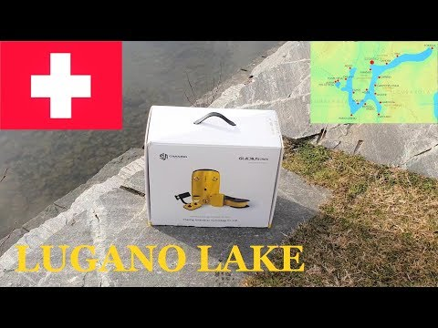 Drone Diving Lugano Lake Switzerland  - Gladius Mini Chasing Innovation Underwater