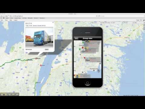 Gps tracking app for iPhone - YouTube