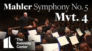 Mahler - Symphony No. 5, Mvt 4 | National Symphony Orchestra (excerpt)