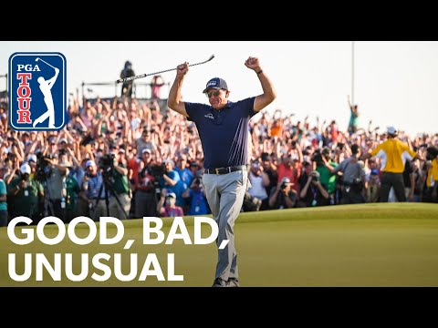 Mickelson breaks records, Wyndham's ace & MJ helps Fowler get his game back