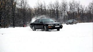 Тест драйв AUDI V8