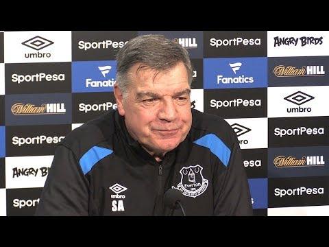 Sam Allardyce Full Pre-Match Press Conference - Everton v Crystal Palace - Premier League