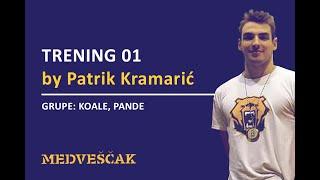 PK Medveščak - Trening 01 za grupe: Koale i Pande by Patrik Kramarić