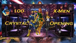 100 X-Men Crystal Opening! - Marvel Contest of Champions