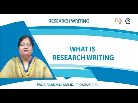 What Is Research Writing