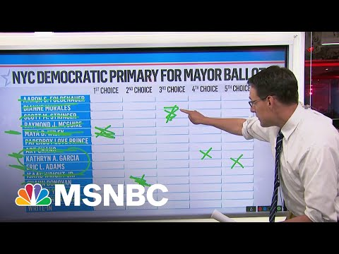 How Ranked-Choice Voting Will Determine NYC Mayoral Nominee