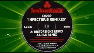 ED209 - Infectious (Distortionz Remix) - Hardcore Beats - Breakbeat, Nuskool Breaks