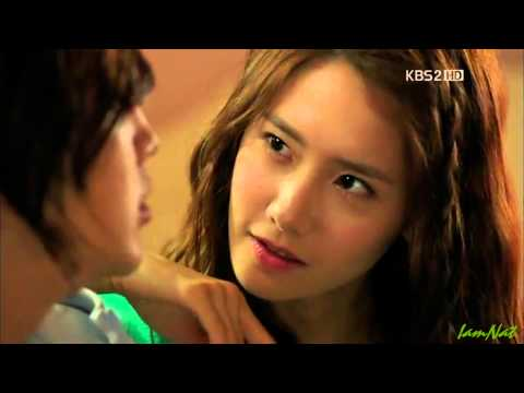 사랑비 Love rain HD - Bed room scene (Jang geun suk & Yoona) Thai & Eng sub