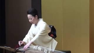 """下野戸亜弓「年の三年を待ちわびて」(田丸彩和子作曲)/#Ayumi Shimonoto  #Koto """"Toshi-no-Mitose-wo-Machiwabite"""""""