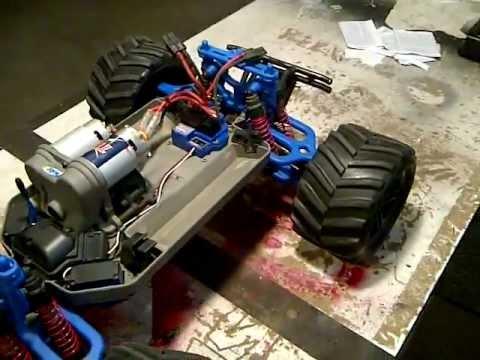traxxas e maxx new blue rpm parts