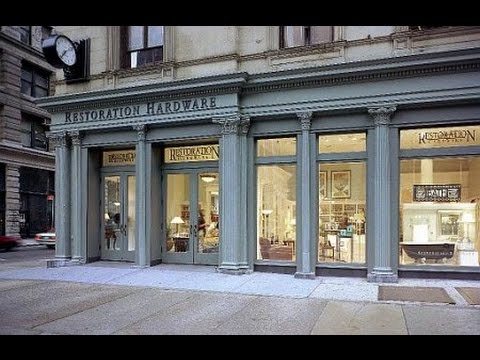 Restoration hardware shopping review new york flatiron for Restoration hardware online shopping
