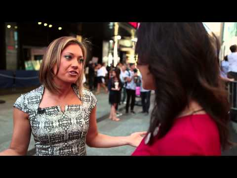 Alexa Conomos interviews Ginger Zee