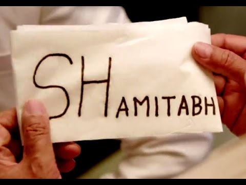 Shamitabh - Official Trailer Released | Amitabh Bachchan, Dhanush | New Bollywood Movies News 2015
