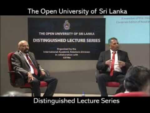 OUSL Distinguished Lecture 01