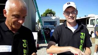 Interview with Team Pipistrel moments before race end 2011 GFC