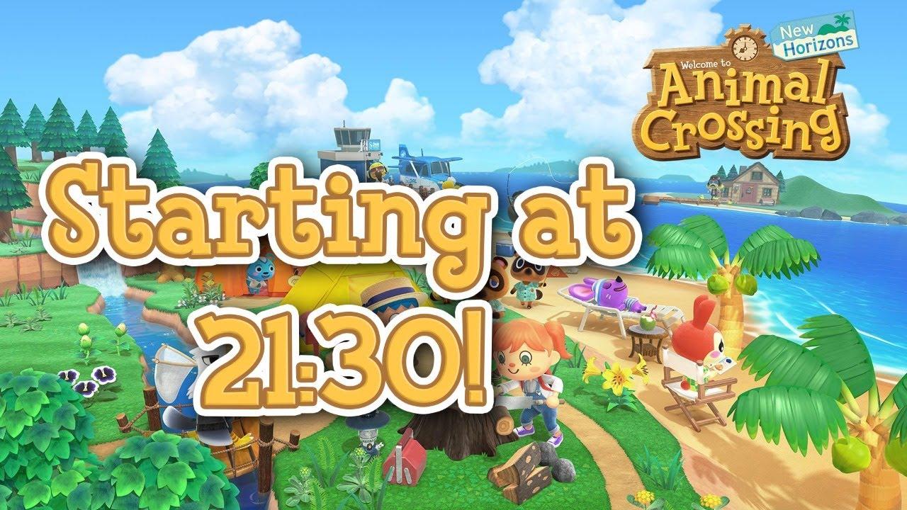 Animal Crossing: New Horizons Stream