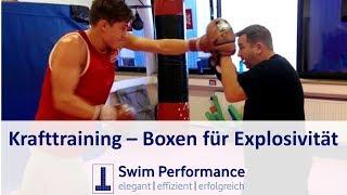 100 Harte Tage mit Dominik Franke: Boxtraining für mehr Explosivität und Schnellkraft - 1. Mal Boxen