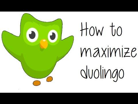How to Maximize Duolingo