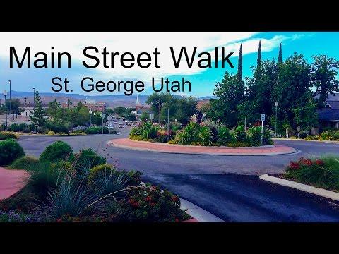 St. George Utah Main Street Walk