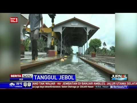 download Banjir Grobogan Meluas, Stasiun Gubug Terendam