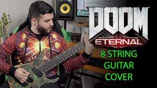 DOOM ETERNAL 8 String Guitar Cover ...