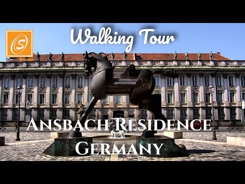 Ansbach Residence, Germany - Walking Tour