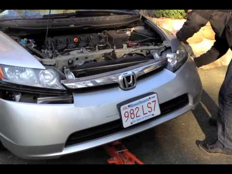 2004 Honda Civic Hybrid >> Honda Civic Horn Upgrade Tutorial - YouTube