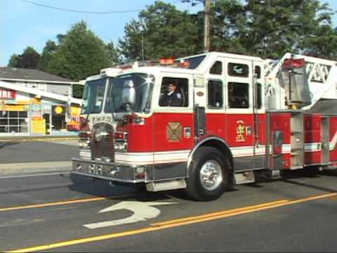 2012 Nassau County, New York Firemans Parade  part 1 of 5