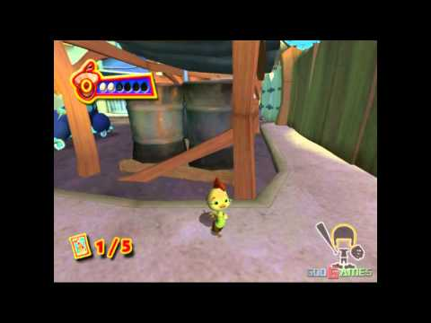 Disney's Chicken Little - Gameplay PS2 HD 720P poster