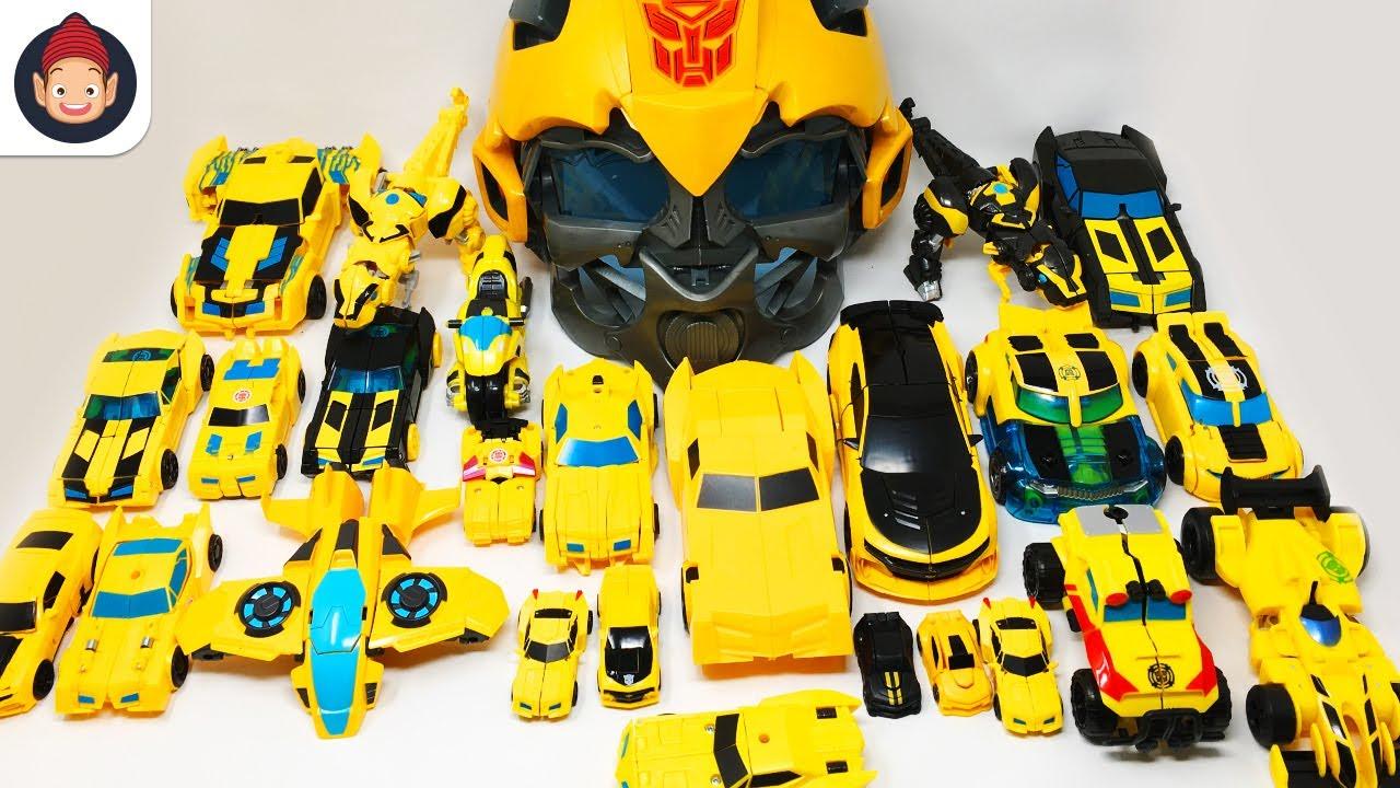 Yellow Color Transformers Bumblebee 30 Vehicles Robot Car ...
