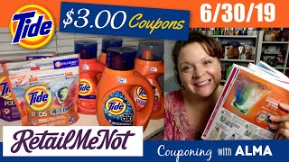 Coupon Insert Preview 6/30/19 Retail Me Not $3 Tide Coupons!