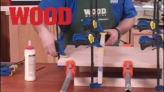 How To Clamp and Sand Flat Panels - WOOD magazine